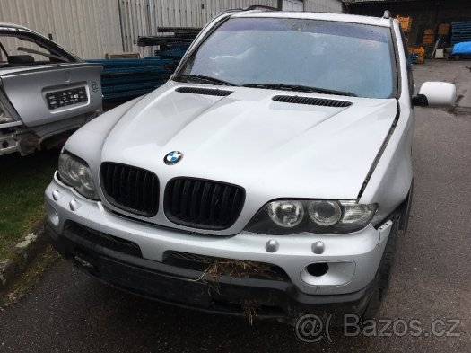 Prodám motor z BMW X5 e53 3,0d 160kw 306D2, najeto 180tis