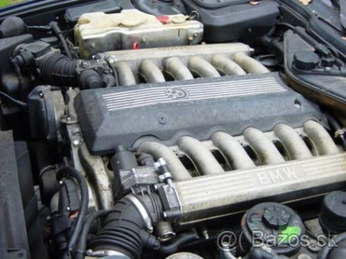 Prodám motor z BMW e38 750i M73B54 , najeto 230 tis km