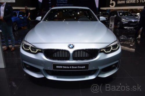 Prodám náhradní díly z BMW F36 LCI 435dx 230kw