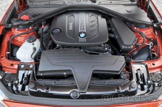 Prodám motor z BMW F20 120d 135kw,jen 40tis km, N47D20C N47N