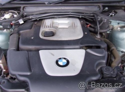 Prodám motor z BMW e46 320d 110kW, najeto 230tis km