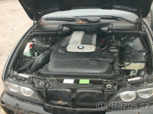 Prodám motor z BMW e39 530d 135kW 306D1, r.v. 2000