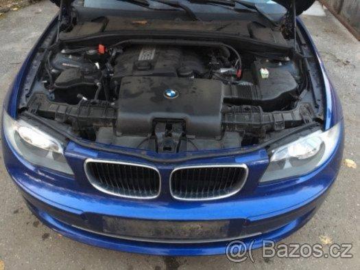 Prodám motor z BMW e81 116i 90kw N43B16A, najeto jen 58tis