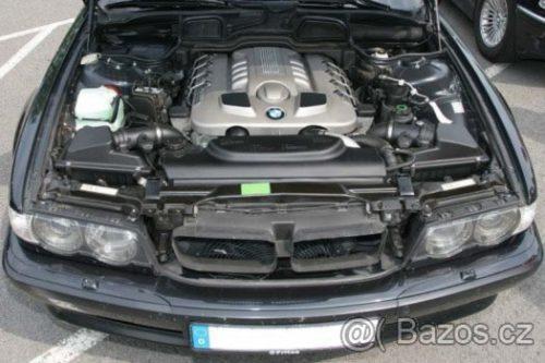 Prodám motor z BMW e38 740d 180kw, 195tis km najeto