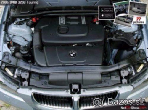 Prodám motor z BMW E87 118d M47N2, 204D4,90kw 120tis km