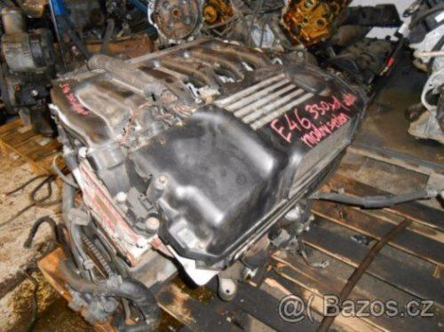 Prodám motor z BMW e46 330xd 135kW,142kW M57D30, r.v. 2001
