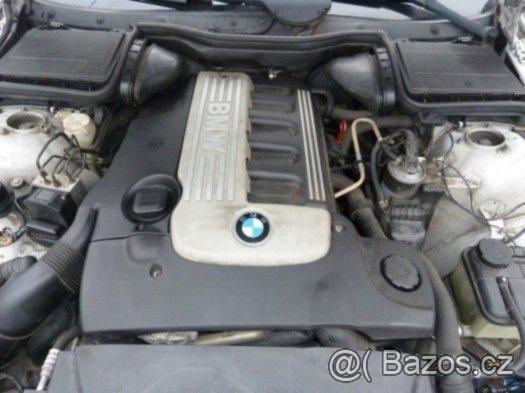 Prodám motor z BMW e39 525d, 120kw, 2002,poctivých 200tis km