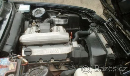 Prodám motor z BMW E30 318i M40B18, 83kw
