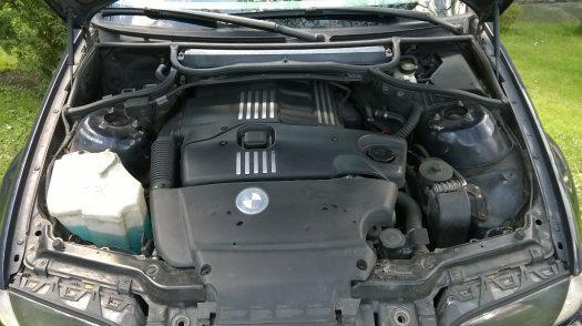 Prodám motor z BMW e46 320d 100kw 204D1 , najeto 251tis km