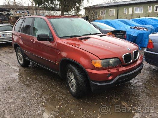 Prodám náhradní díly z BMW X5 e53 3,0d 135kw i 160kw