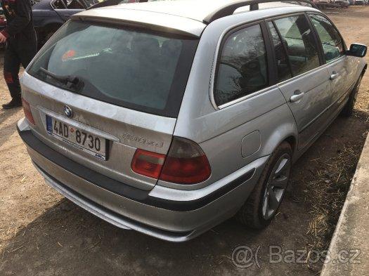 Prodám náhradní díly z BMW e46 330xd 135kw i 150kw