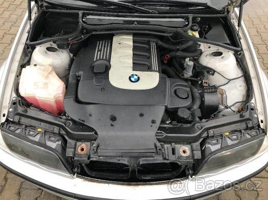 Prodám motor z BMW e46 330d 135kw, najeto 220tis km