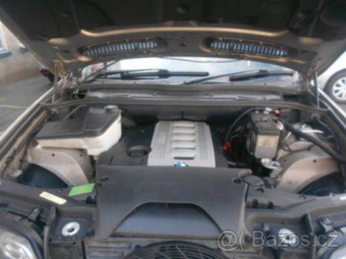 Prodám motor z BMW X5 e53 3,0d 135kw 306D1, najeto 320tis