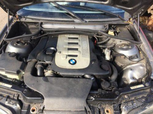 Prodám motor z BMW e46 330d 150kw 306D2 220tis km