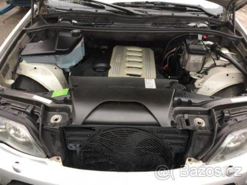 Prodám motor z BMW X5 e53 3,0d 160kw 306D2, najeto 265tis