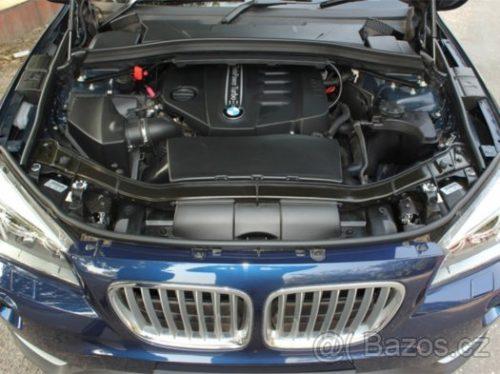 Prodám motor z BMW X1 e84 20d 135kw N47N N47D20C, 120tis km