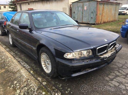 Prodám náhradní díly z BMW e38 730d 740d