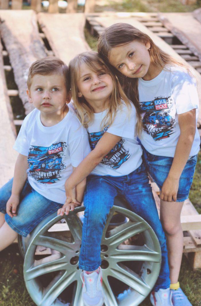 Dětské tričko E92 M3 LIMITED EDITION – BÍLÉ