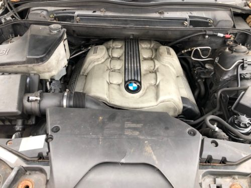 Prodám motor z BMW X5 e53 4,8is N62B48A, najeto 170tis km
