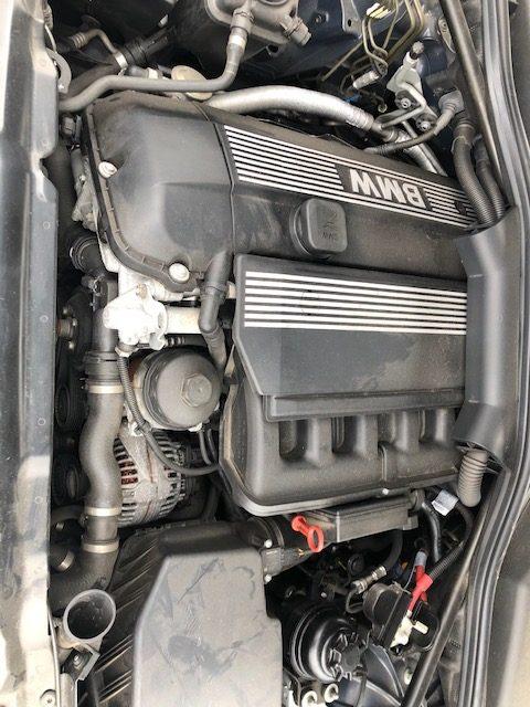 Prodám motor z BMW e60 520i m54b22 226s1 125kw