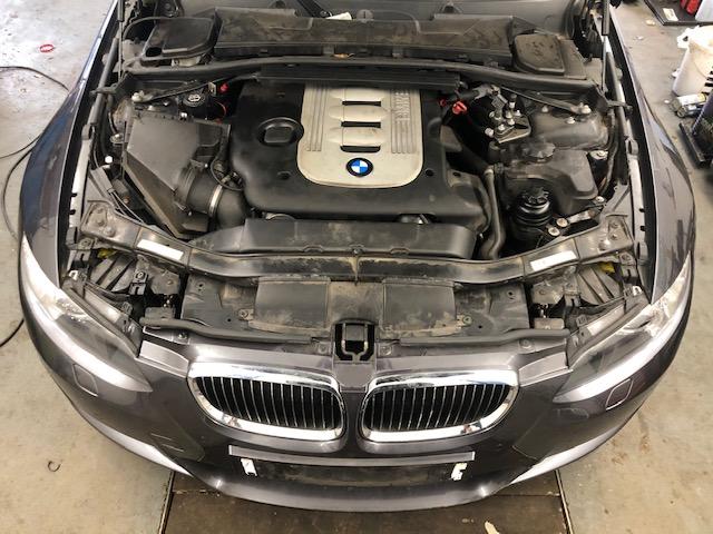 Prodám motor z BMW e92 335d 210kW najeto 80tis